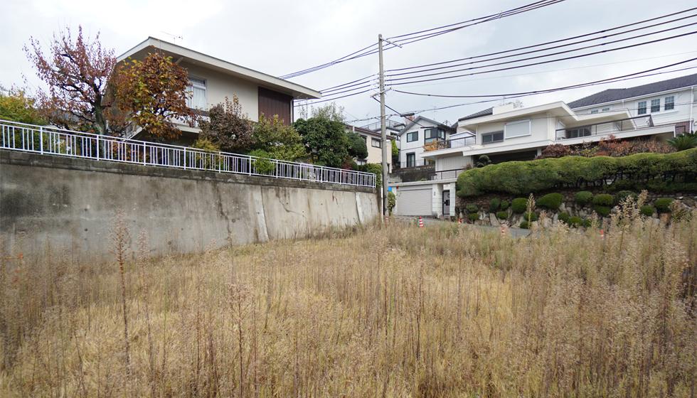 建築家の住宅,吹田市,千里山の家,敷地調査