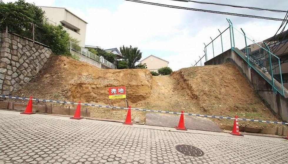 建築家の住宅,名古屋の家,敷地写真