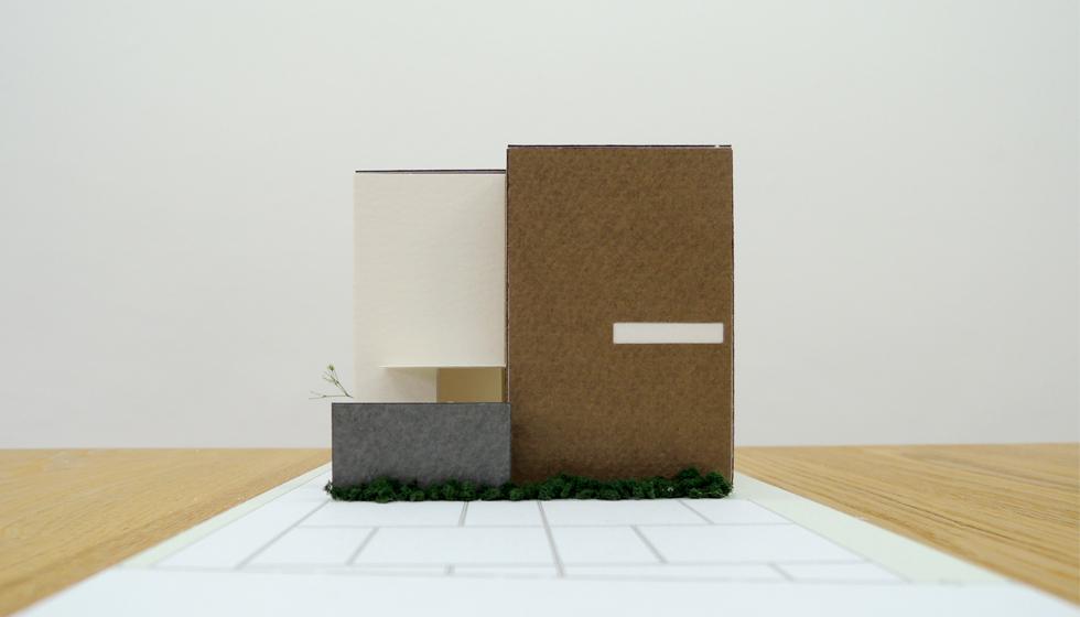 建築家の住宅,栗東の家,外観1