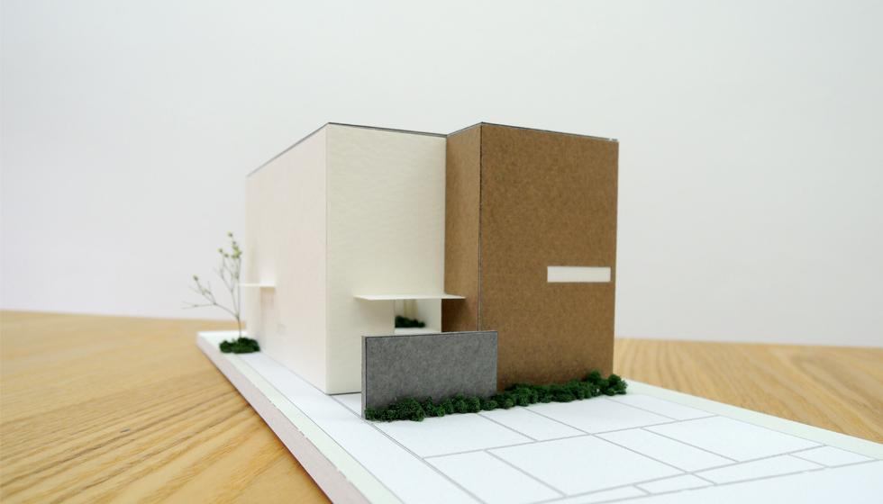 建築家の住宅,栗東の家,外観2