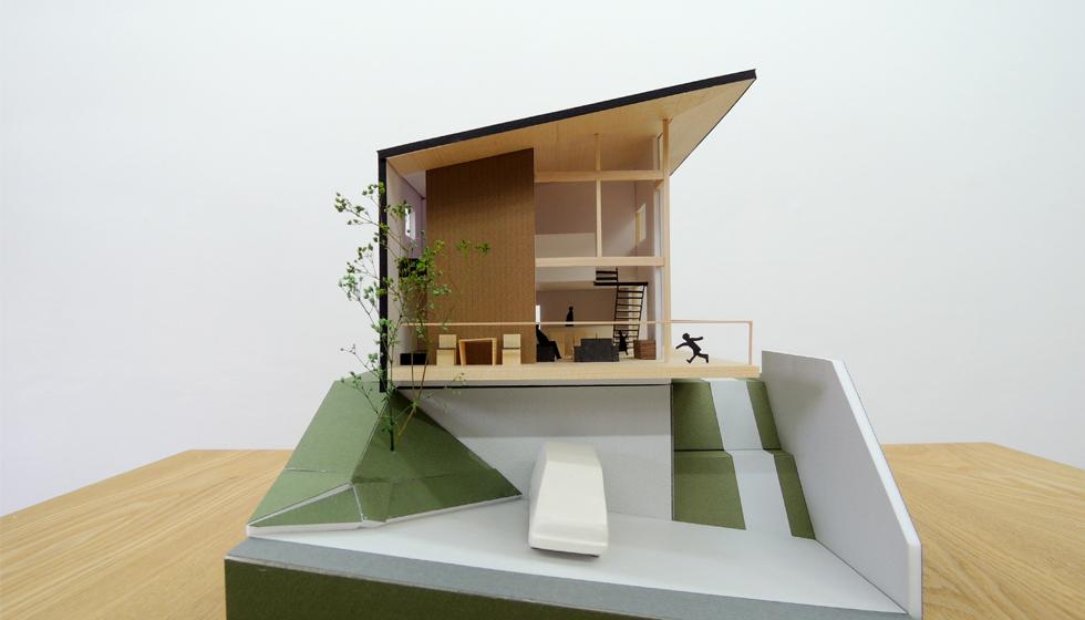 名古屋の家_眺望の美術館1