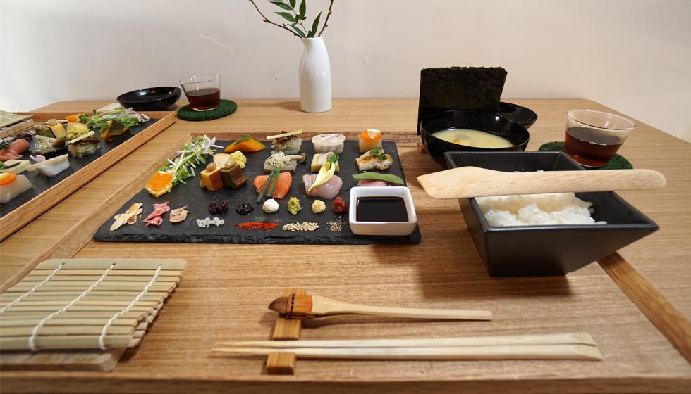 建築家の食事,手織り寿司,アウーム,