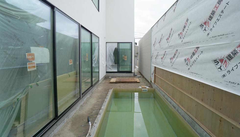 プール水張り試験