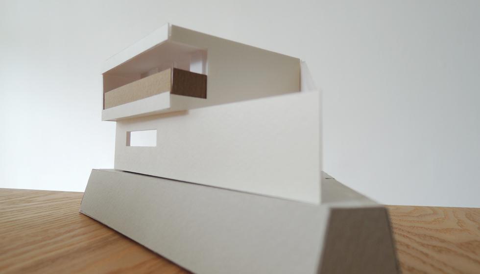 狭山の家模型検討1