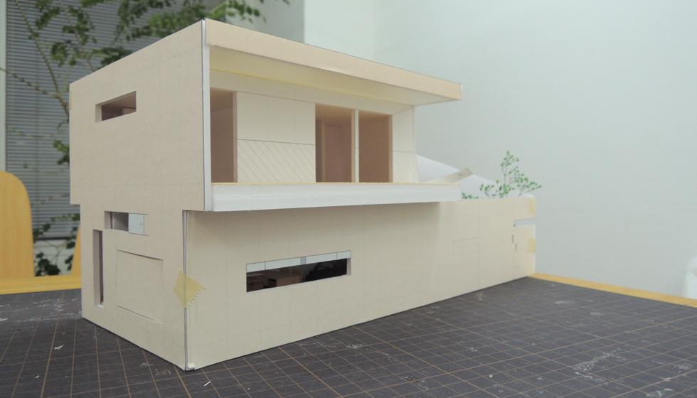 狭山の家_模型