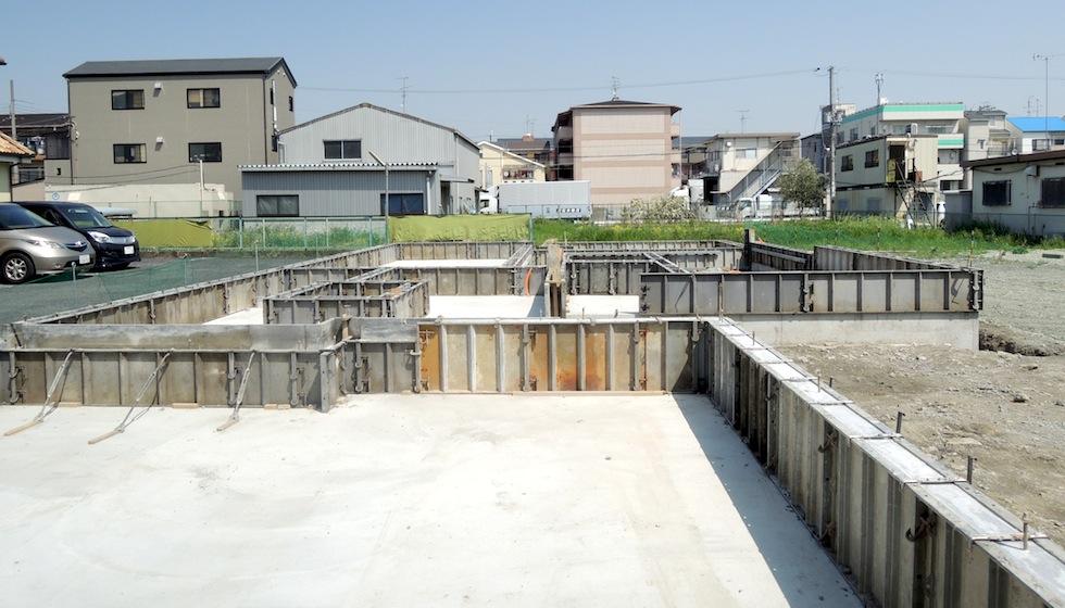 コンクリート検査_ガレージハウス