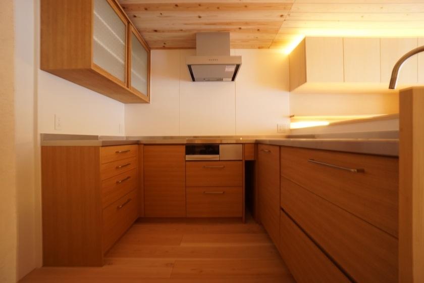 木のマンションリノベーション,キッチン