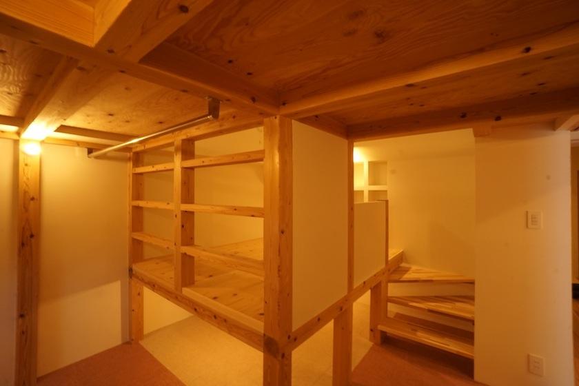 木のマンションリノベーション,寝室