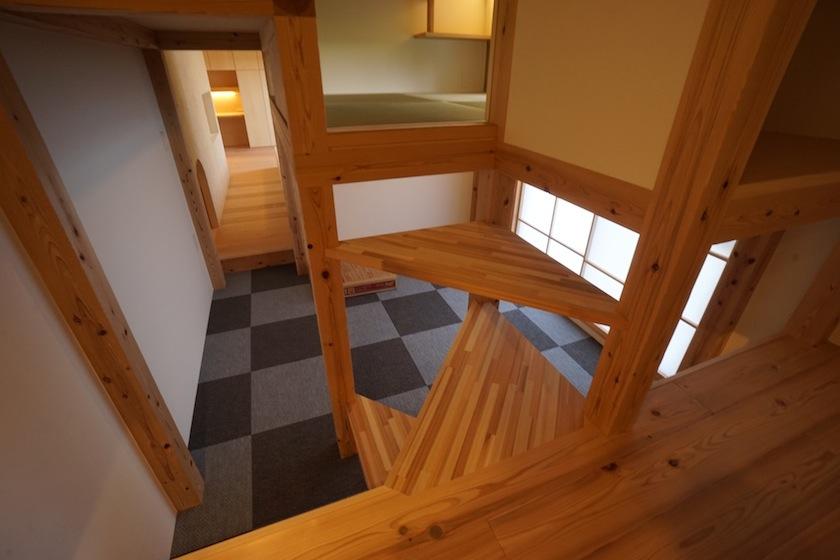 木のマンションリノベーション,書斎,寝室
