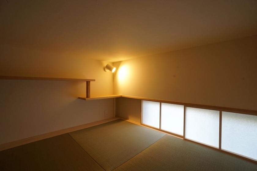 木のマンションリノベーション,書斎