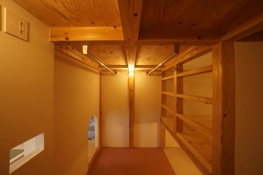 木のマンションリノベーション,WIC