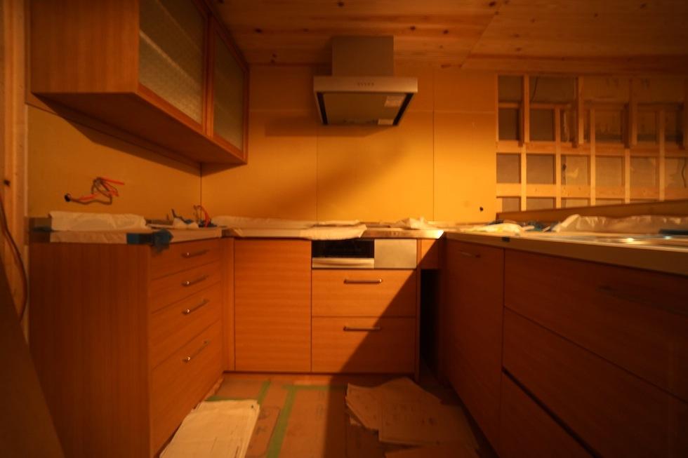 オーダーキッチン,マンションリノベーション
