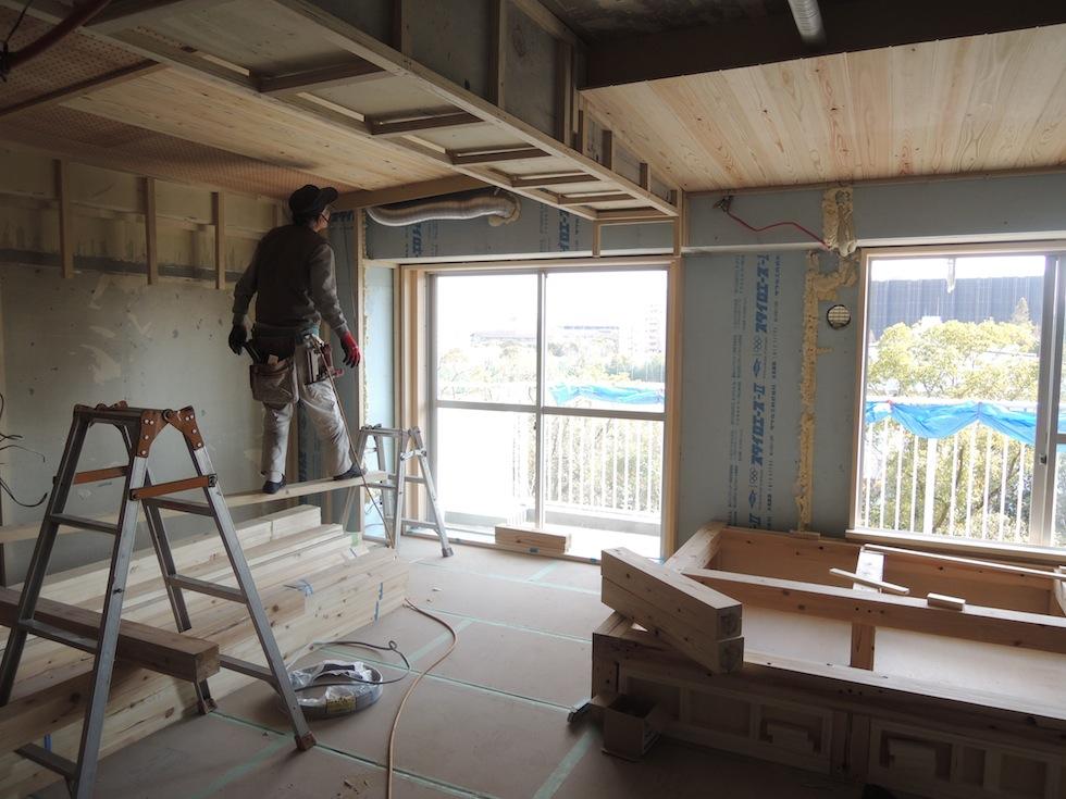 木のマンションリノベーション,大阪,南港1