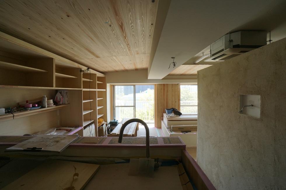 大阪,建築家,木のマンションリノベーション