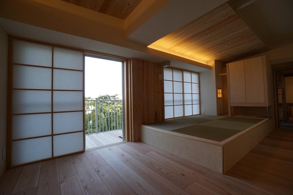 木のマンションリノベーション,大阪市,高級リノベーション