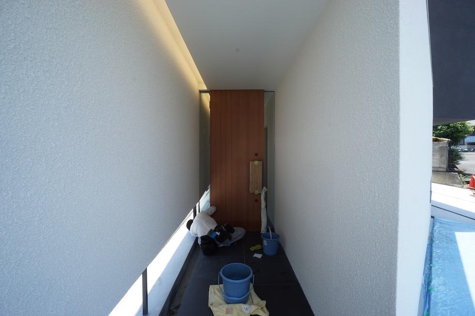 大阪狭山市の家,建築家,設計事務所,変形地,中庭,コートハウス1
