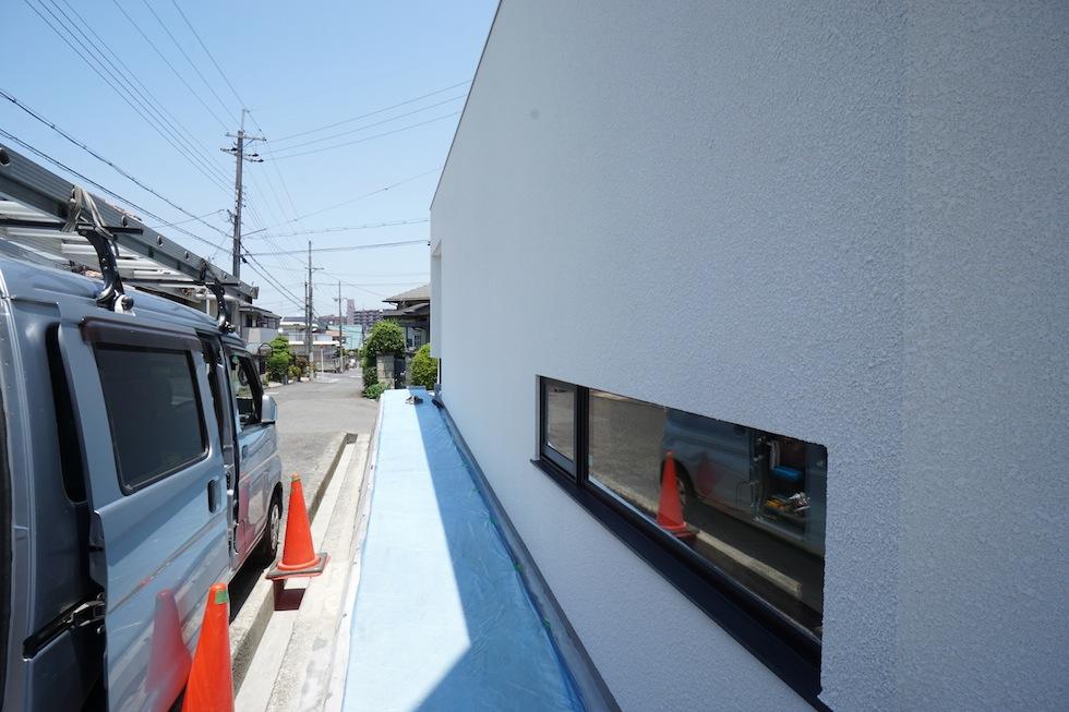 大阪狭山市の家,建築家,設計事務所,変形地,中庭,コートハウス8