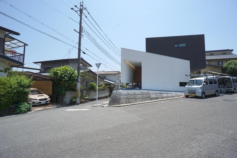 大阪狭山市の家,建築家,設計事務所,変形地,中庭,コートハウス9