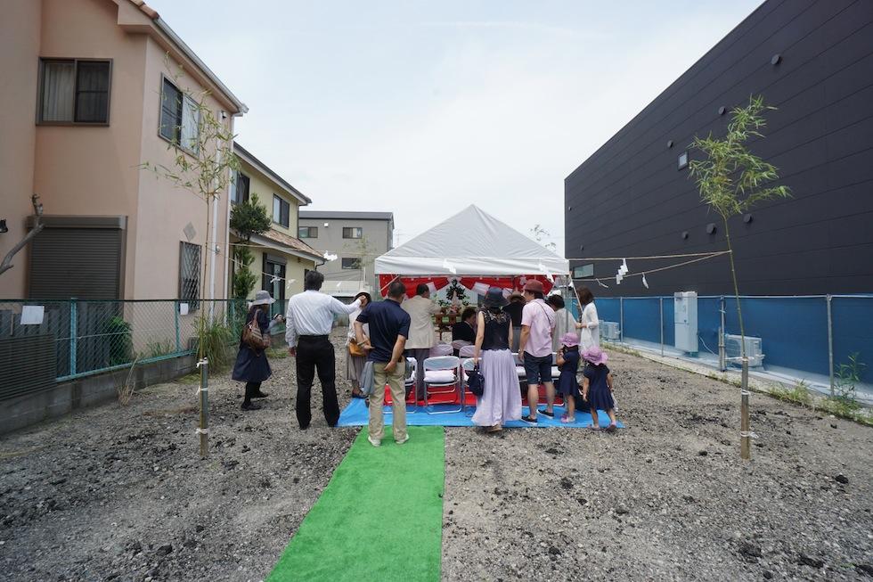 地鎮祭,大阪府大東市,住宅設計,建築家