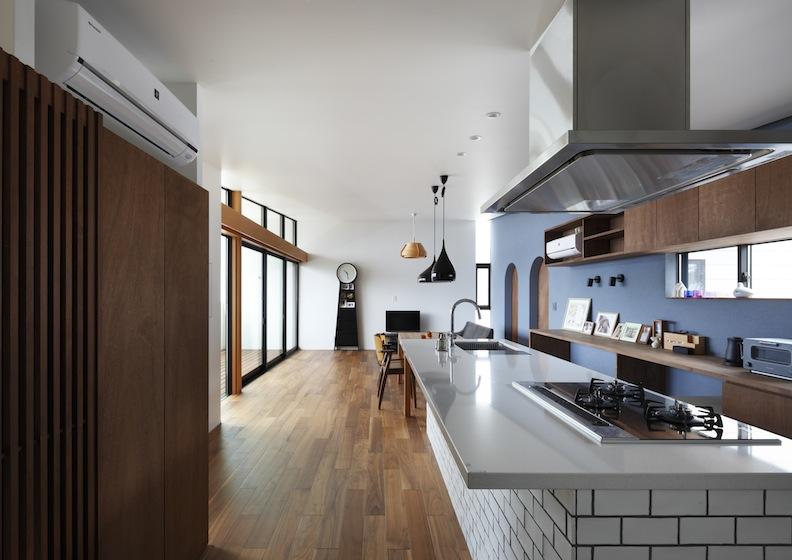 宝塚山手台の家,建築家,オーダーキッチン