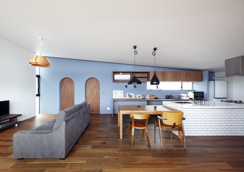 宝塚山手台の家,建築家,カフェ風