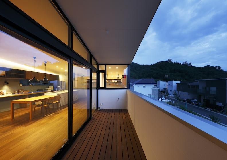 宝塚山手台の家,建築家,美しい夜景