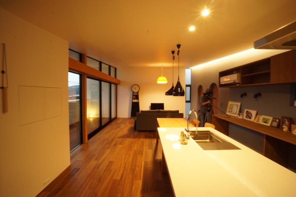 宝塚山手台の家撮影
