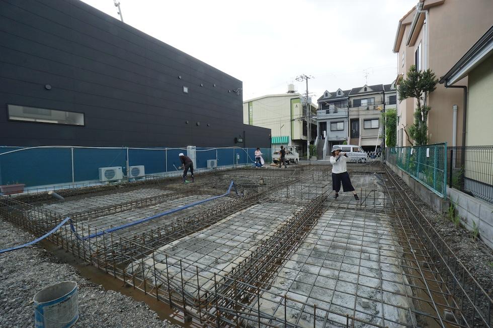 配筋検査,大阪府大東市,住宅設計,建築家