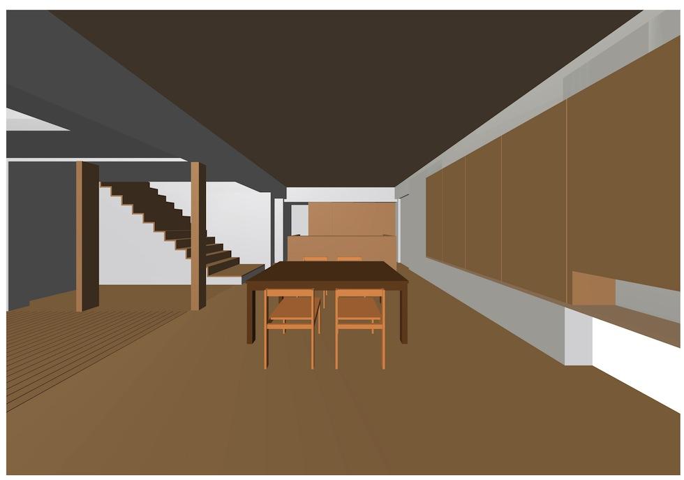 リビング間接照明,京都,大阪,建築家デザイン高級住宅