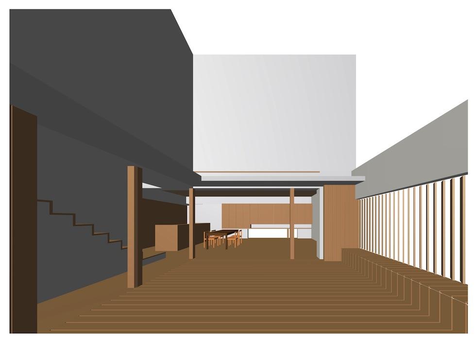 中庭テラス,京都,大阪,建築家デザイン高級住宅