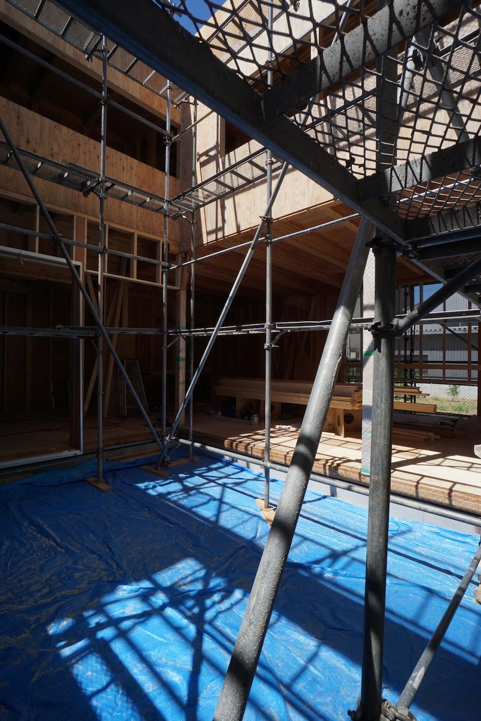 中庭,設計事務所,建築家,遮熱,デザイン,大阪,耐震等級3