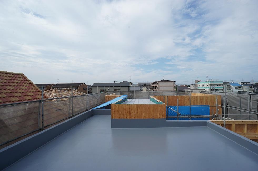 防水工事,設計事務所,建築家,遮熱,デザイン,大阪
