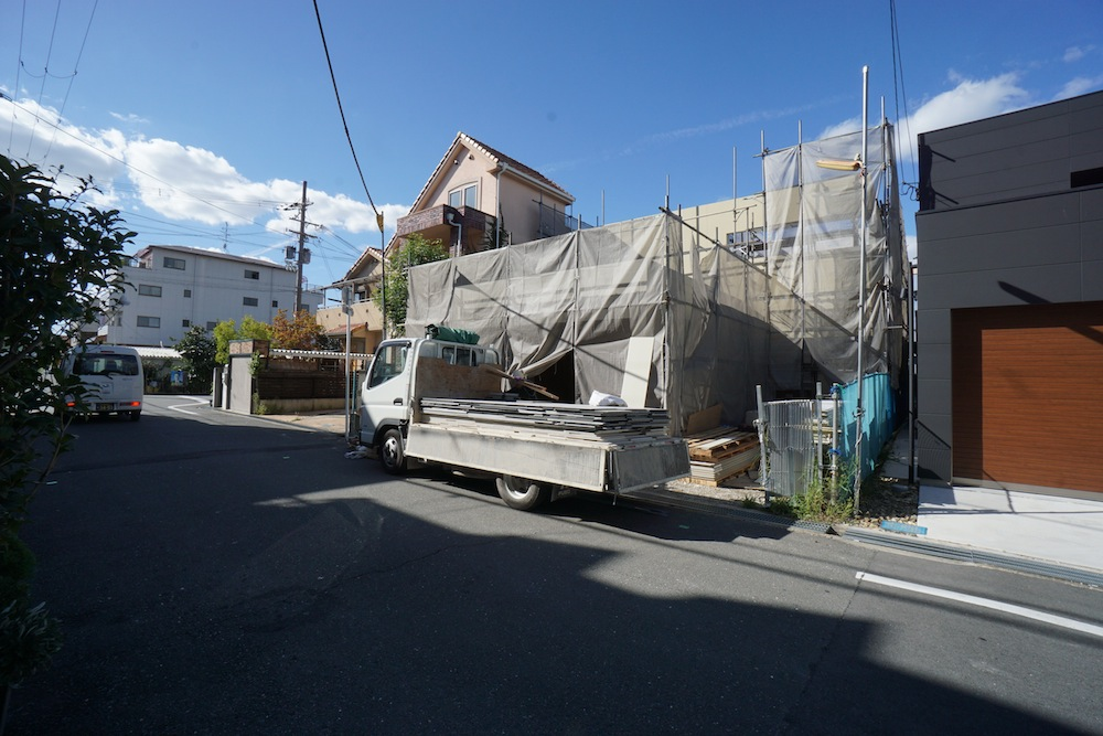 おおきな中庭テラスの家,大阪,高級注文住宅