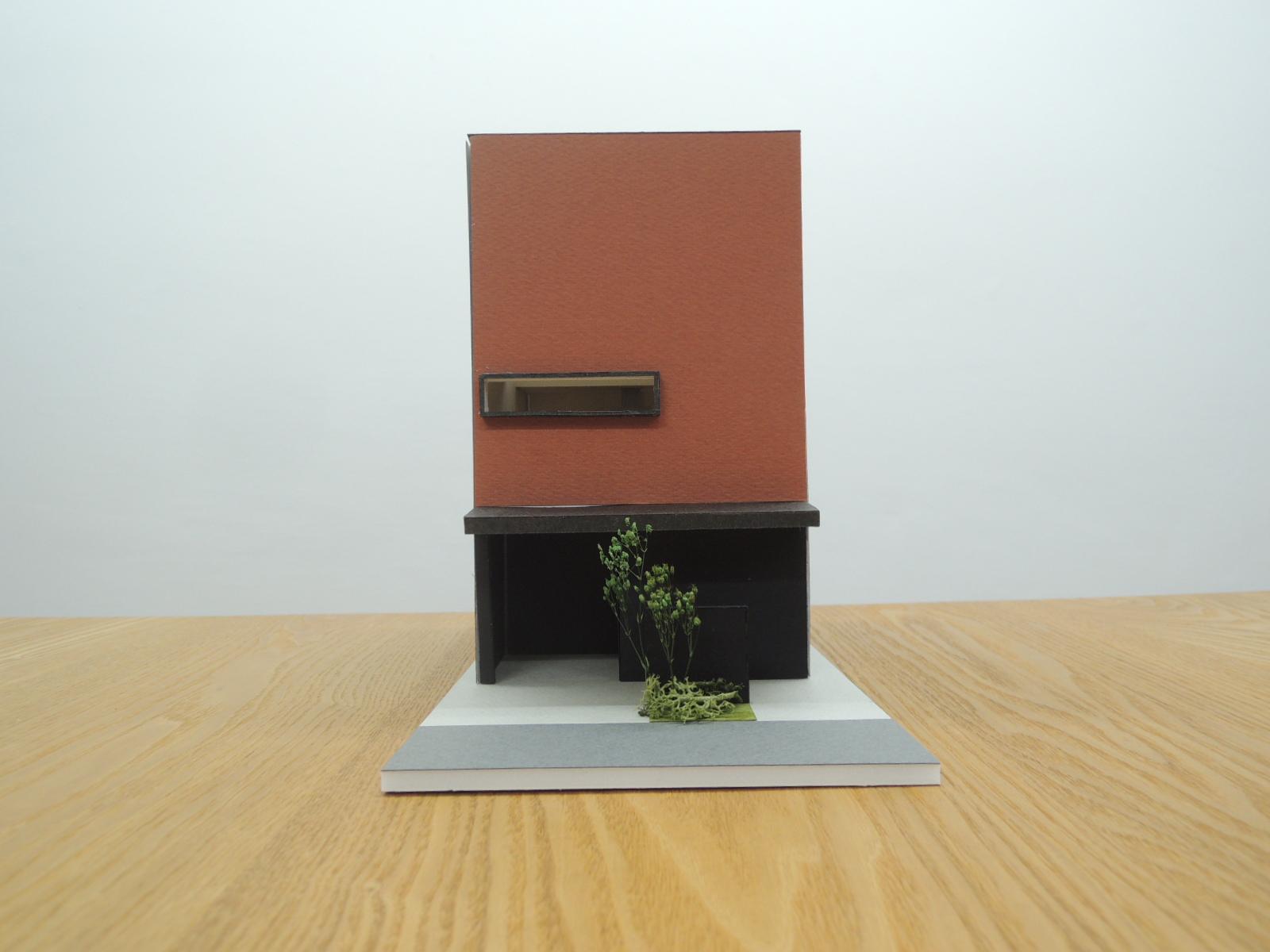 四條畷の家,外観,木造3階建て,デザイン