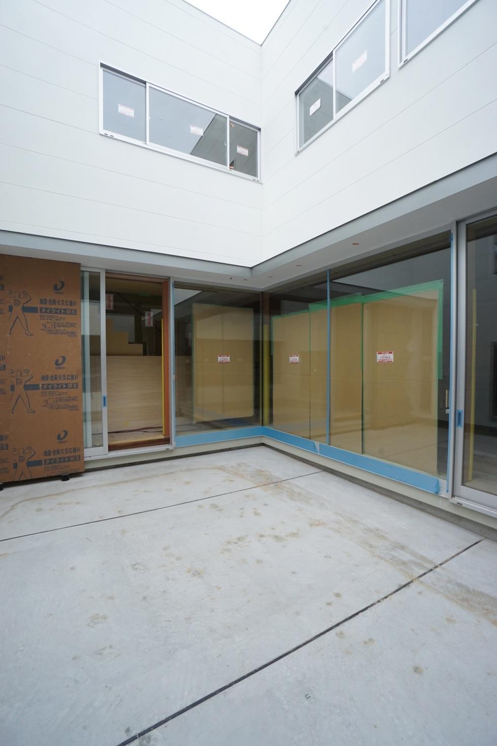 コートハウス,板貼り天井,建築家,デザイン,大阪,神戸,京都