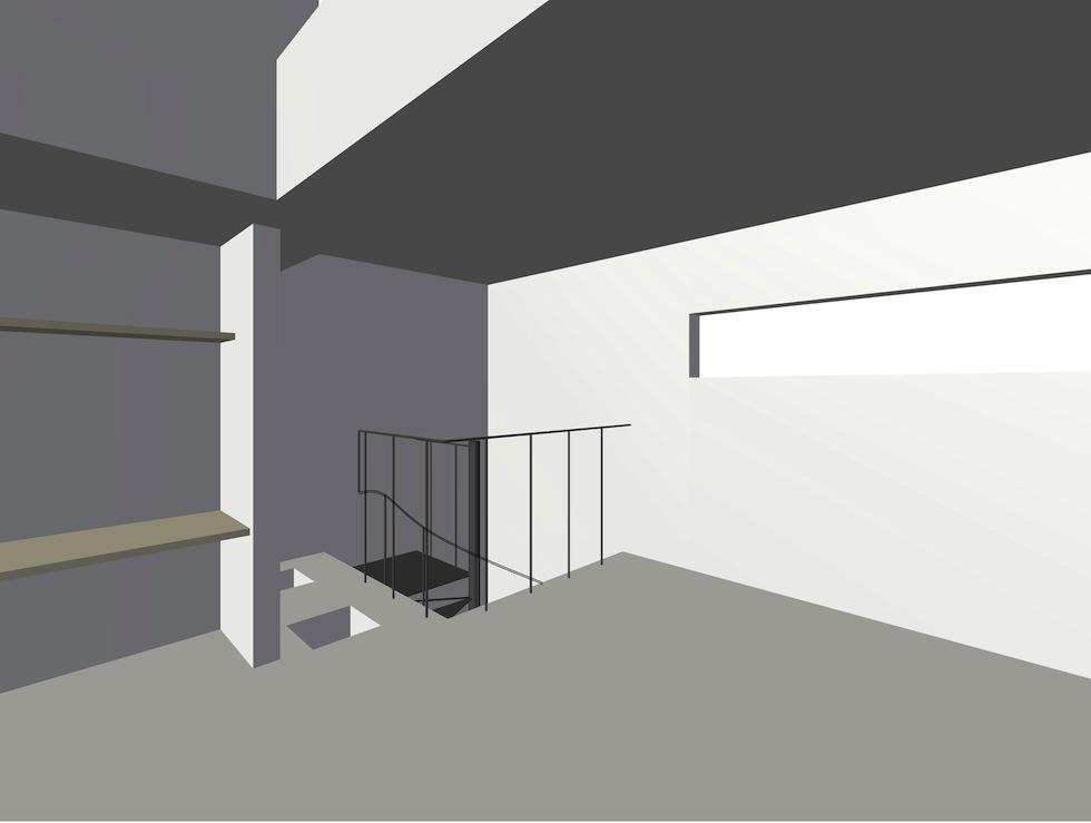 螺旋階段,デザイン,住宅設計,大阪