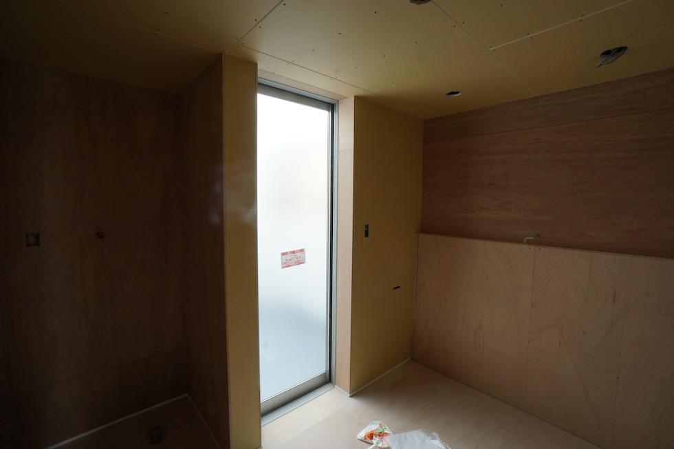 階段ホール,ギャラリー住宅設計,大阪,洗面室