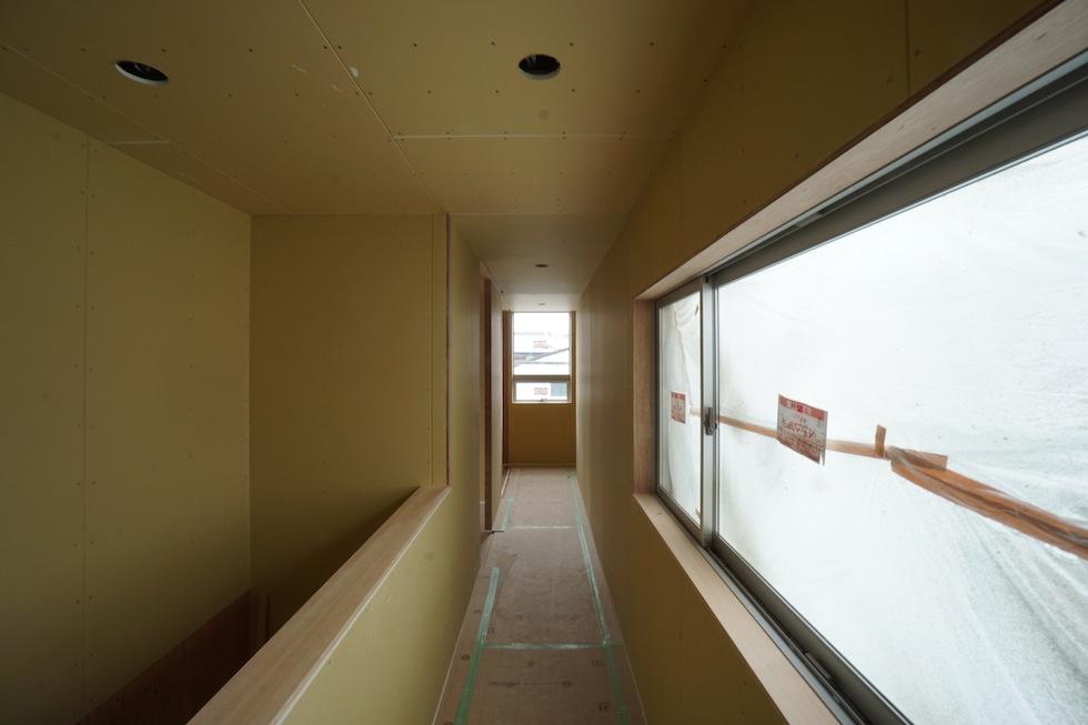 階段ホール,ギャラリー住宅設計,大阪