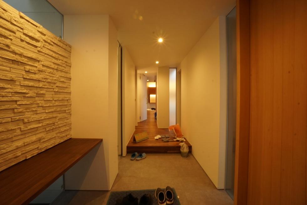 京都,大阪,神戸,建築家,上質注文住宅,設計事務所,エントランス飾り棚