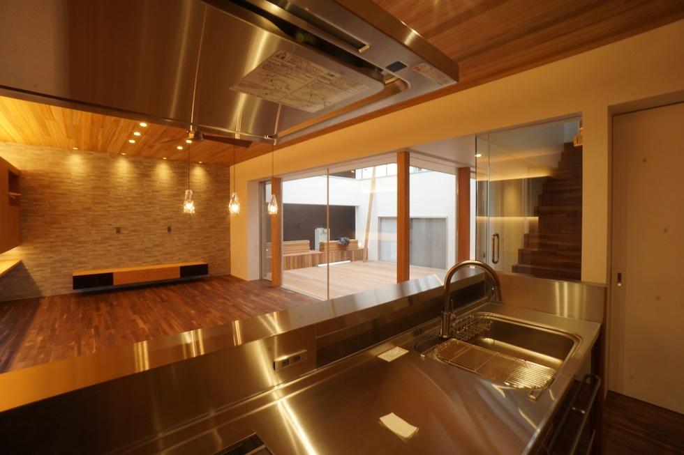 京都,大阪,神戸,建築家,上質注文住宅,設計事務所,キッチンニッチ