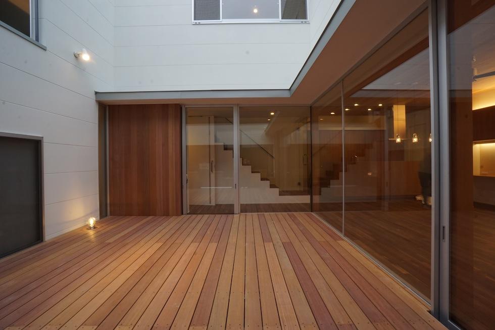 京都,大阪,神戸,建築家,上質注文住宅,設計事務所,デッキテラス