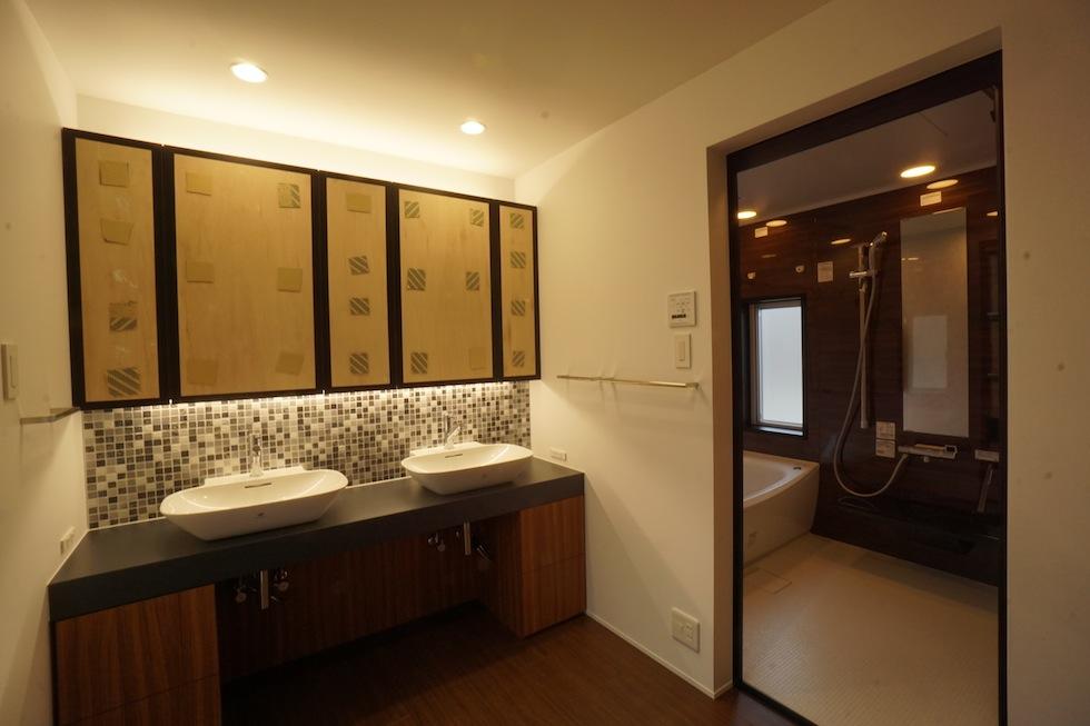 京都,大阪,神戸,建築家,上質注文住宅,設計事務所,洗面,サニタリー