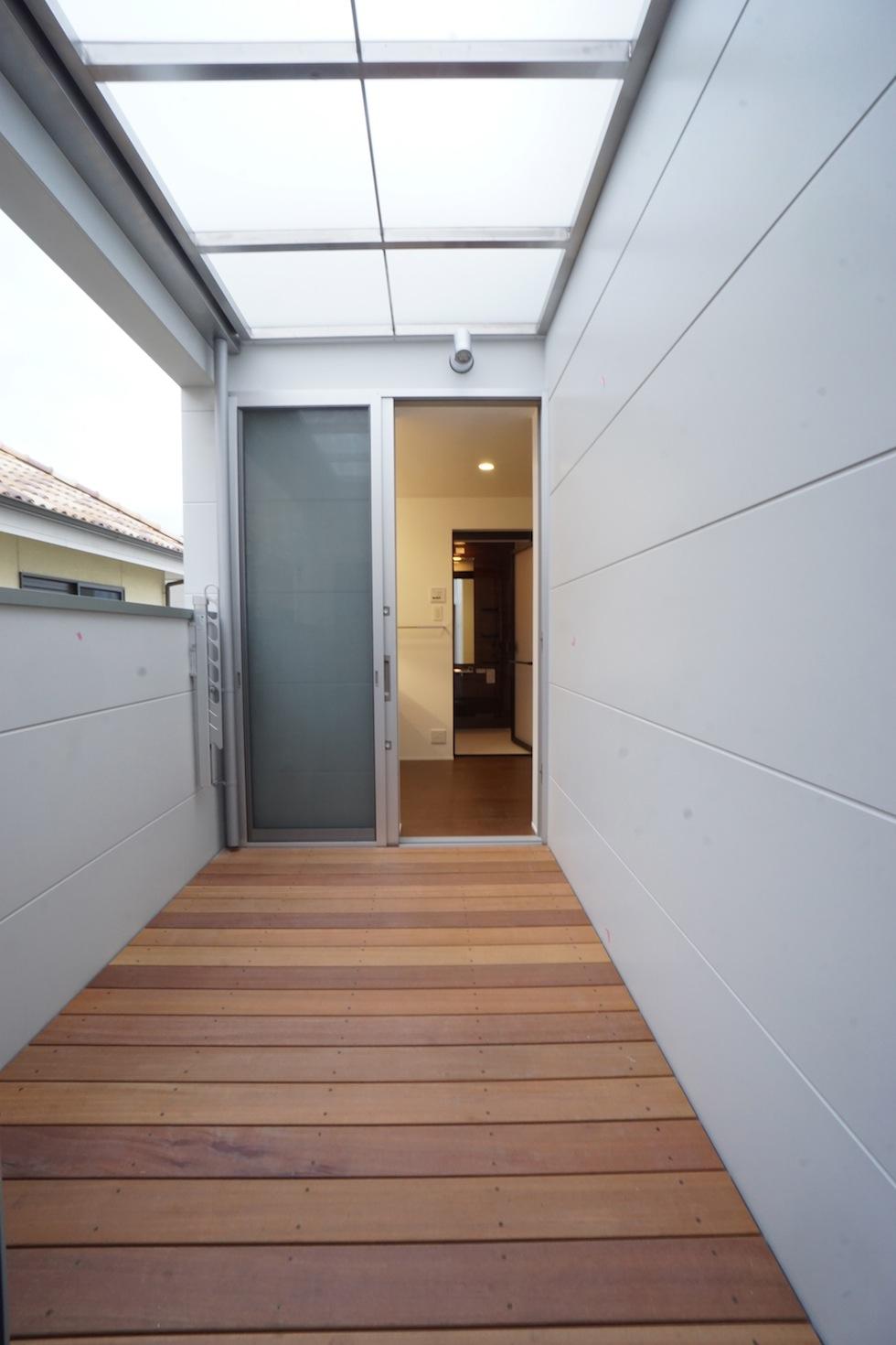 京都,大阪,神戸,建築家,上質注文住宅,設計事務所,物干し