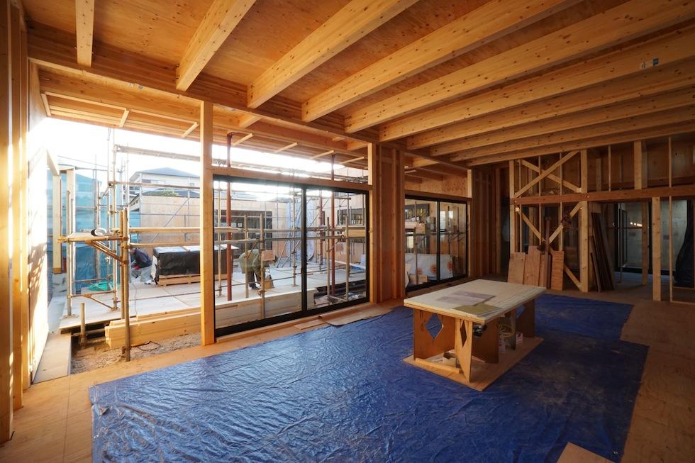 大阪,京都,神戸,高級注文住宅,設計事務所,建築家,上質デザイン,吹付断熱,大開口リビング