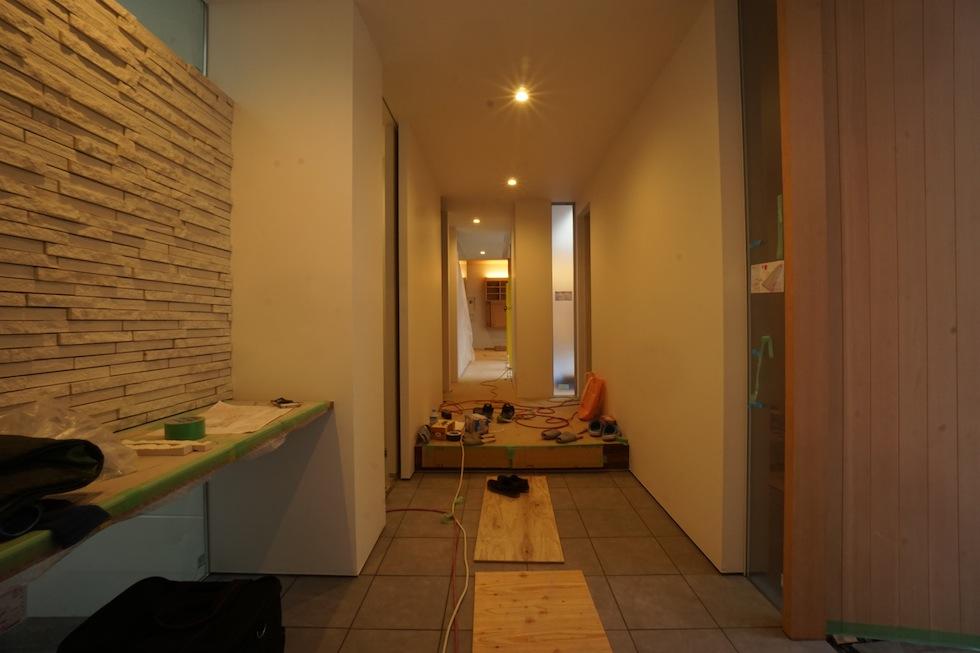 大阪,神戸,京都,コートハウス,中庭の家,高級注文住宅,エントランス