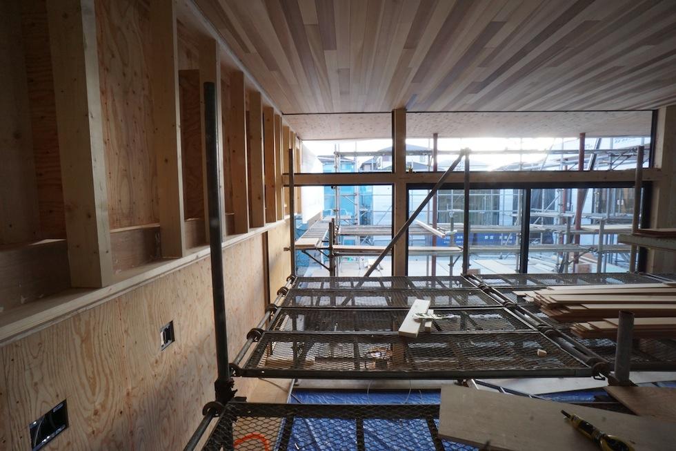 リゾートプールハウス,和泉市,建築家,設計事務所,住宅設計,高級注文住宅,板貼り天井