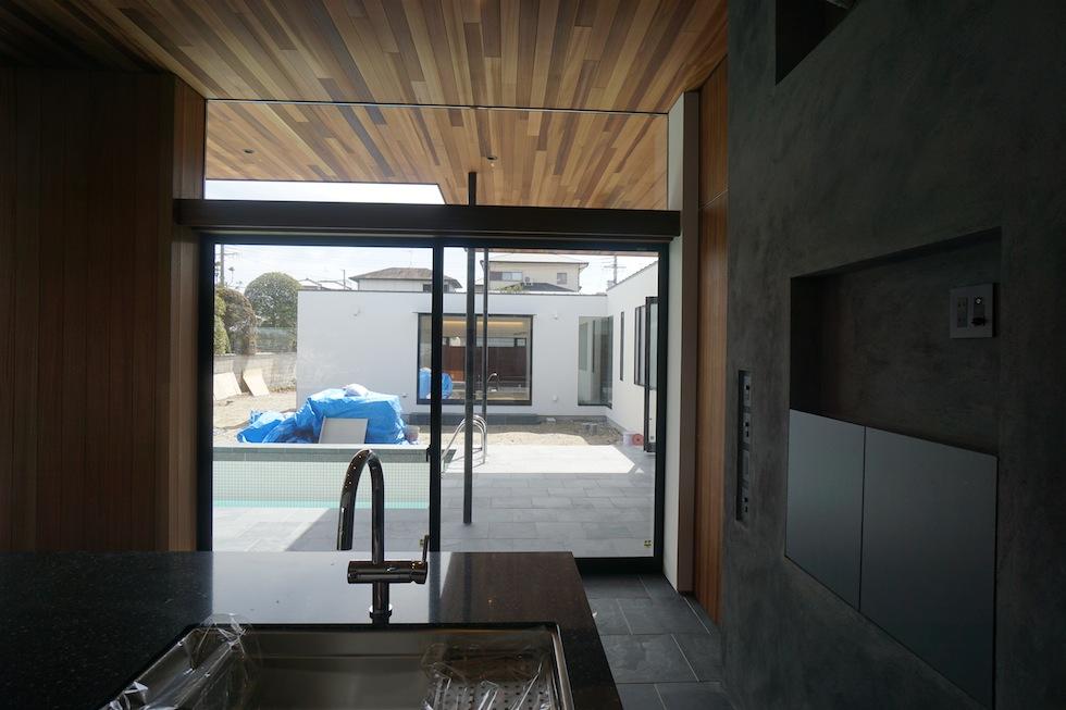プールハウス,大阪,神戸,京都,設計事務所,建築家,住宅設計,高級注文住宅,和泉市,キッチン