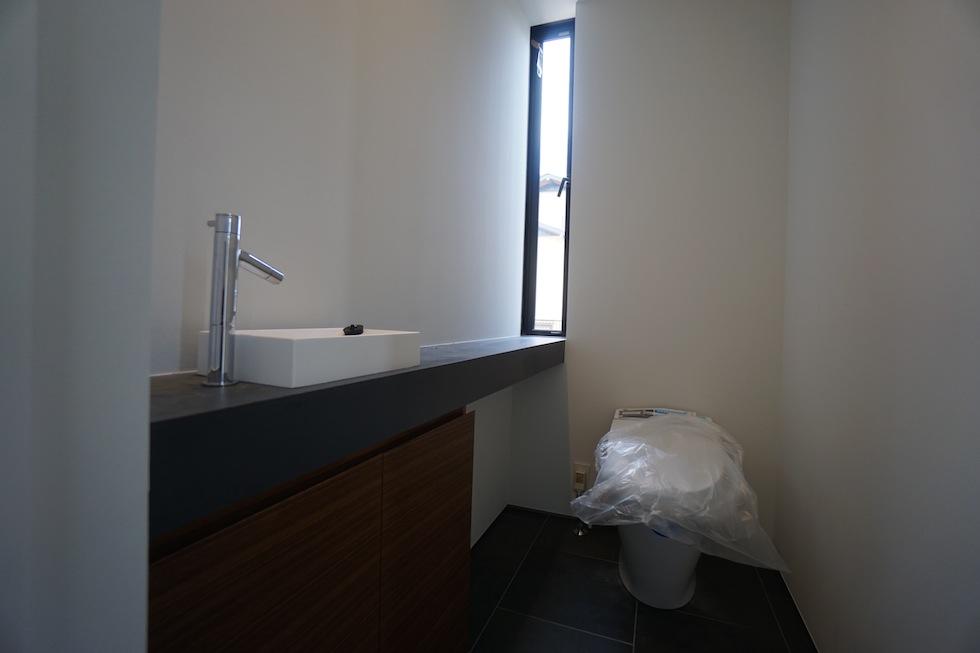 プールハウス,大阪,神戸,京都,設計事務所,建築家,住宅設計,高級注文住宅,和泉市,トイレ