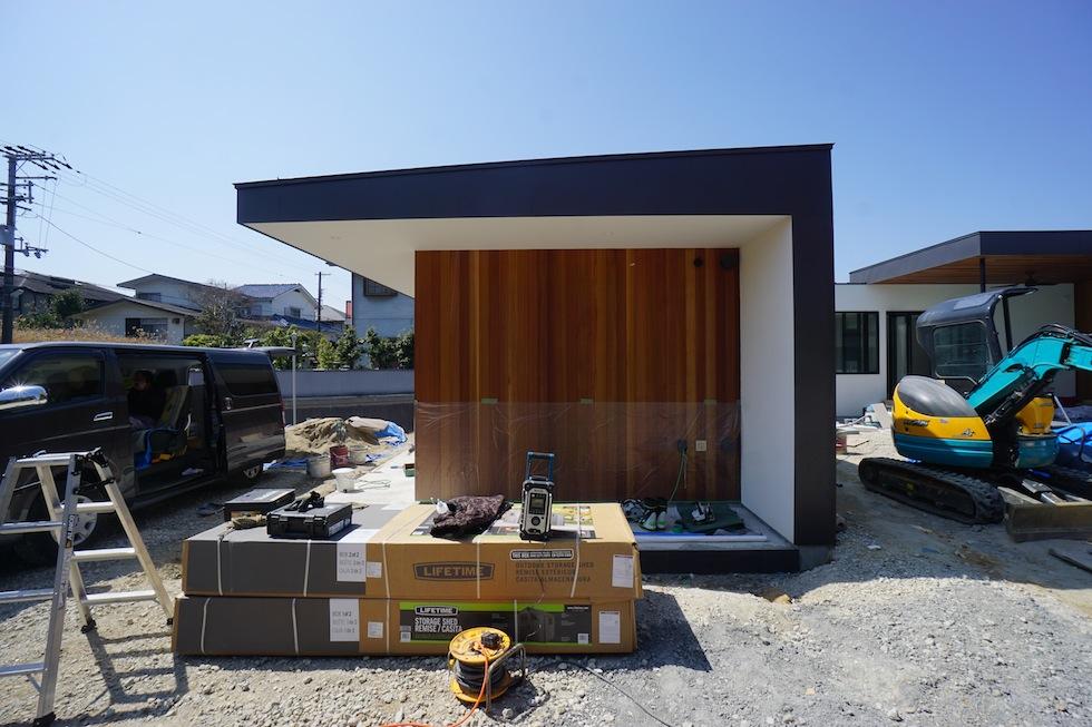 大阪,プールハウス,高級注文住宅,設計事務所,建築家,京都,神戸,外構工事