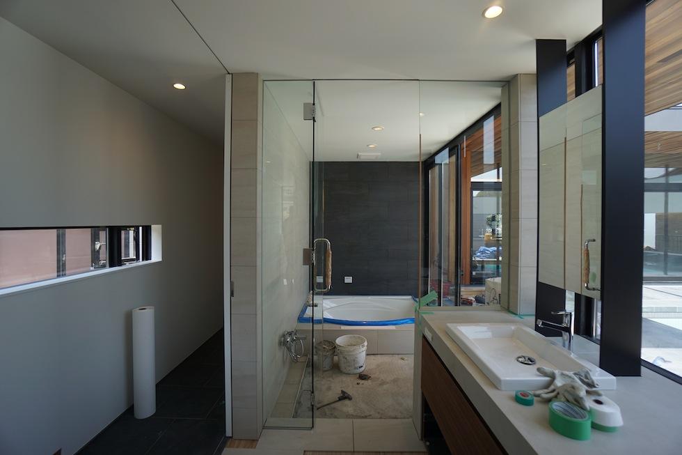 大阪,プールハウス,高級注文住宅,設計事務所,建築家,京都,神戸,洗面,浴室
